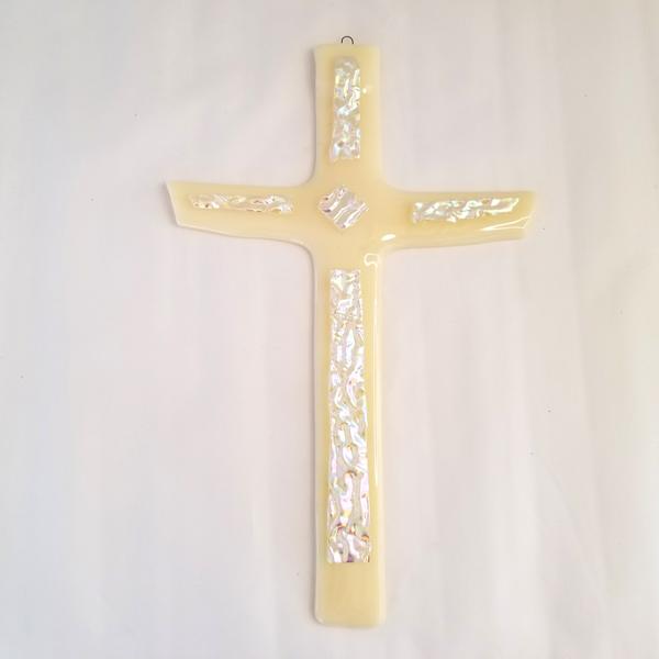 Fused Glass custom cross
