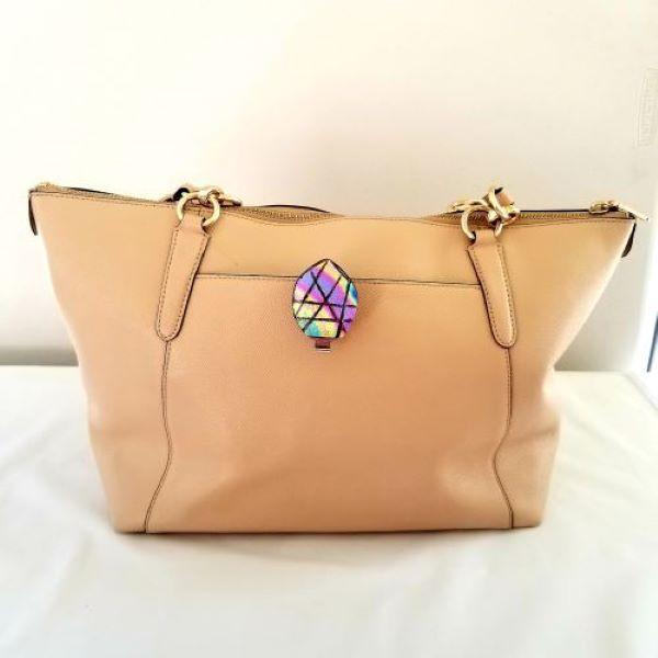 Dichroic Key Finder Handbag Jewelry