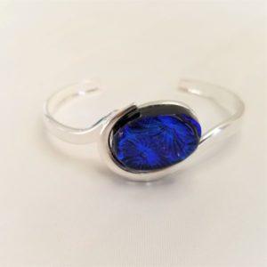 Oval Bracelet - BlueBurst 2
