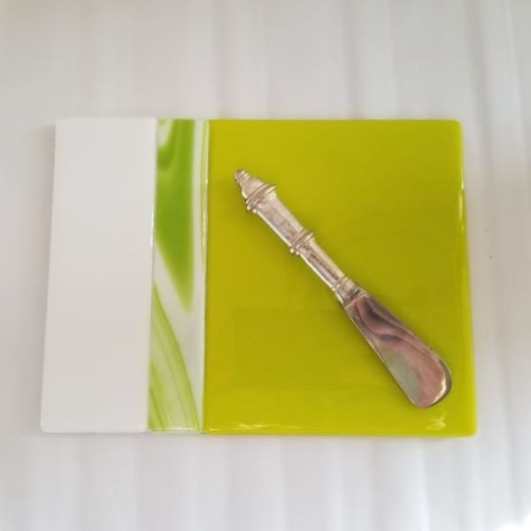 Lime Green Cheese Board