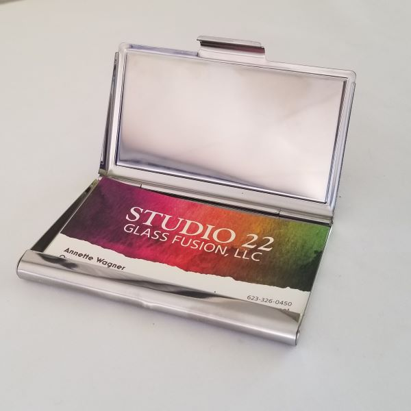 High Voltage Business Card Case