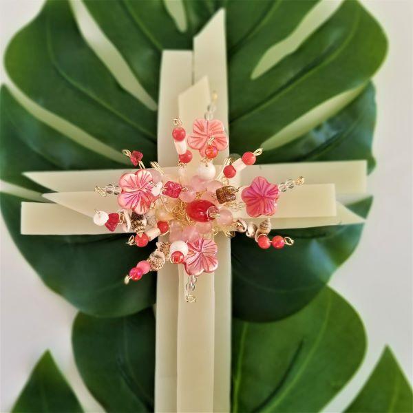 C08 Plumeria Polynesian Cross