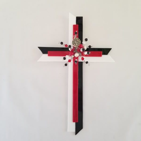 C11 Red Line of Courage Cross