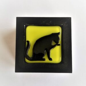 Black Cat Trinket Box