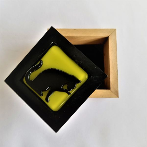Black Cat 2 Trinket Box
